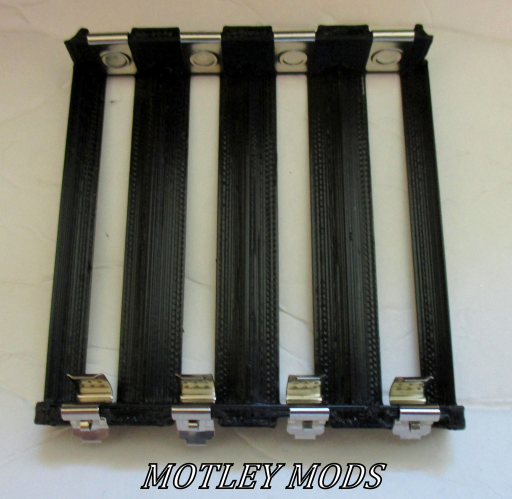 Quad 18650 Battery Sled,Multiple colors - Motley Mods - 2