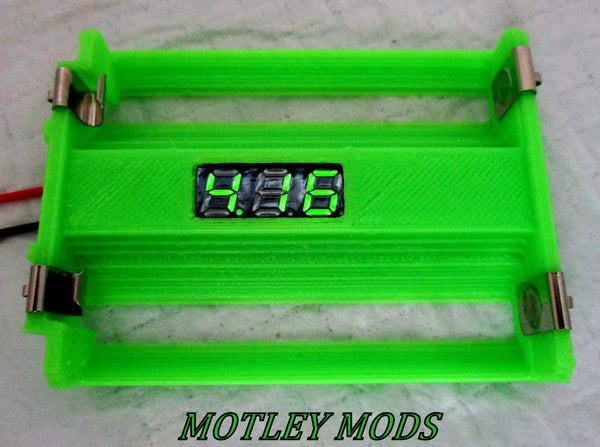 Box Mod Kit 1591B volt-sled green - Motley Mods - 2