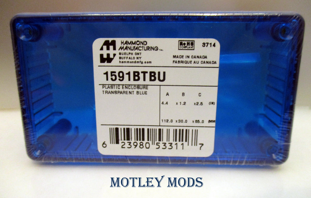 Hammond 1591B Enclosure - Motley Mods - 2