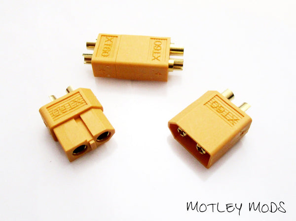 Lipo Battery Connectors - Motley Mods - 1