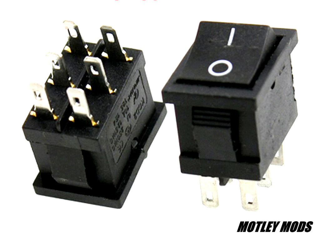 Rocker Switch 6 pin Series/Parallel