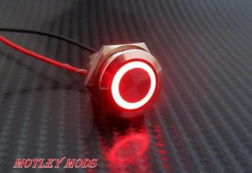 Box Mod kit CNC B-Triple,Red Led - Motley Mods - 3