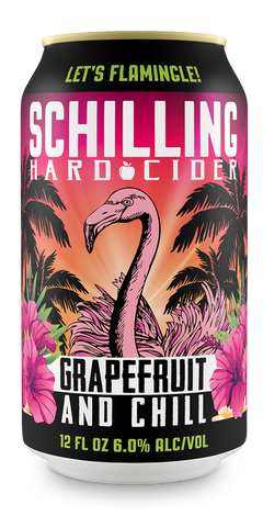 Schilling - Grapefruit and Chill 355ml