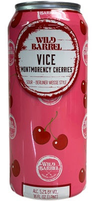 Wild Barrel - Vice: Montmorency Cherries
