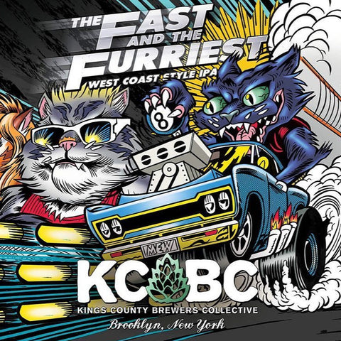 KCBC - The Fast and the Furriest