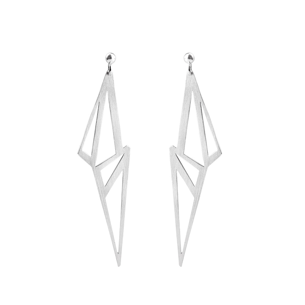 Icicle Shard Earrings