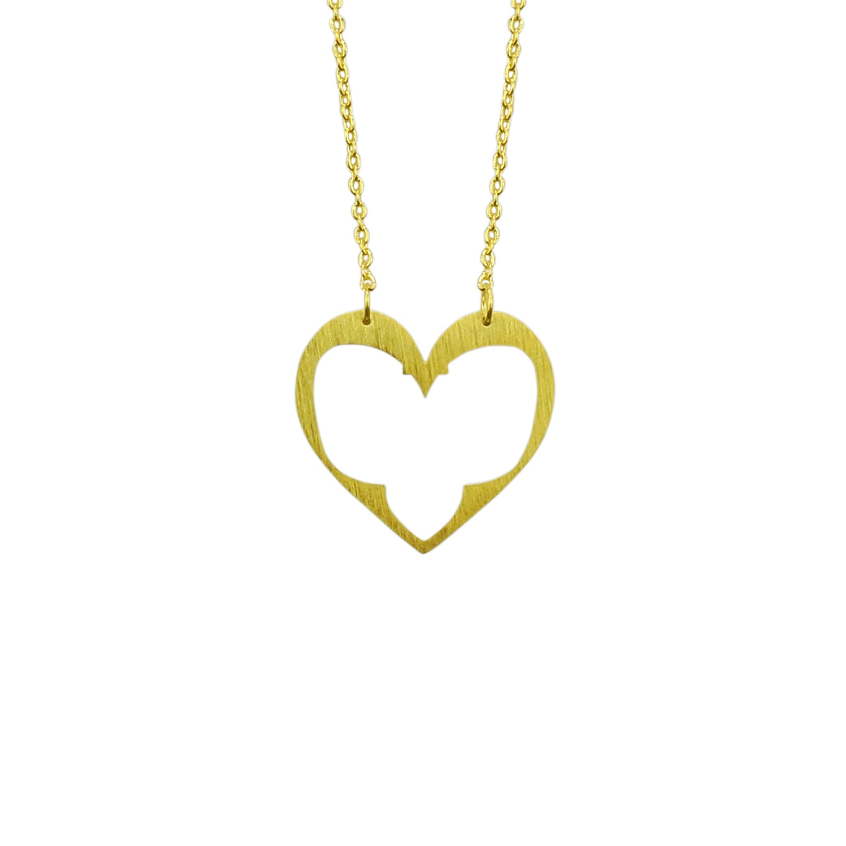 Organic Heart Necklace