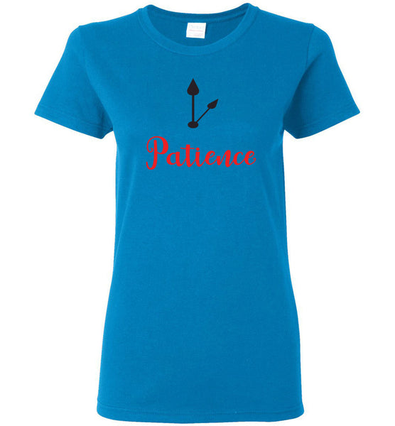 Patience - Ladies Short-Sleeve Tee