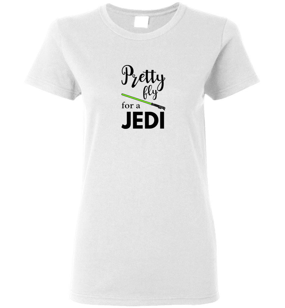 Pretty Fly for a Jedi - Ladies Short-Sleeve Tee