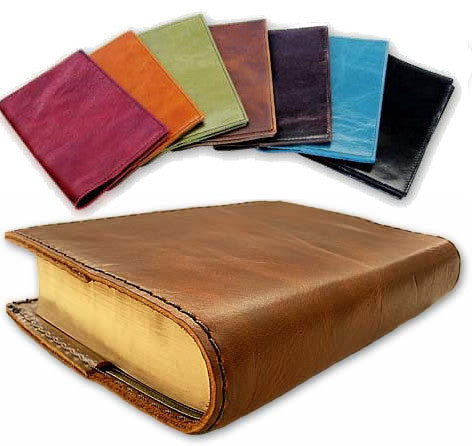 Italian Leather Bible Cover, NAB (Medium Size)