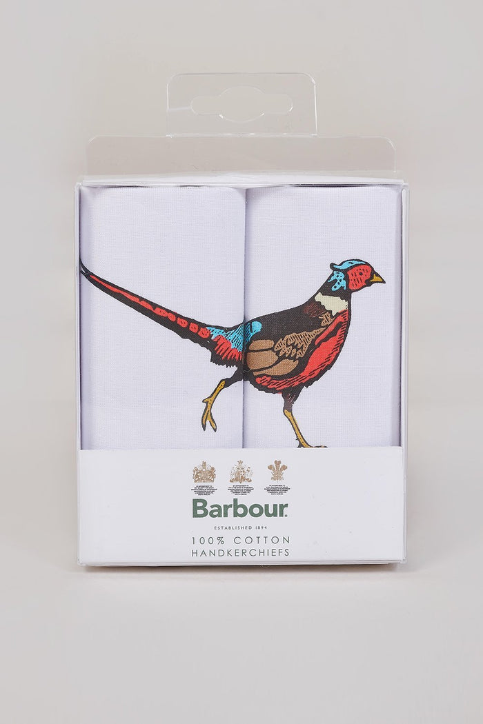 Barbour Animal Handkerchief Gift Box Set