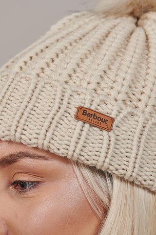 Barbour Ladies Pearl Saltburn & Beanie Gift Box