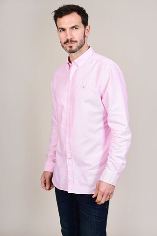 Barbour Oxford Pink Cotton Shirt S