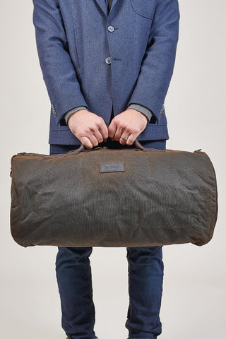 Barbour Wax Olive Holdall