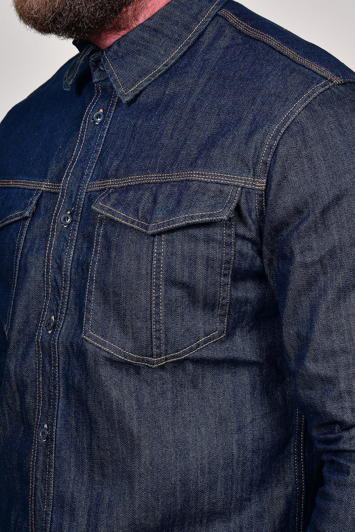 Blend Dark Wash Denim Shirt