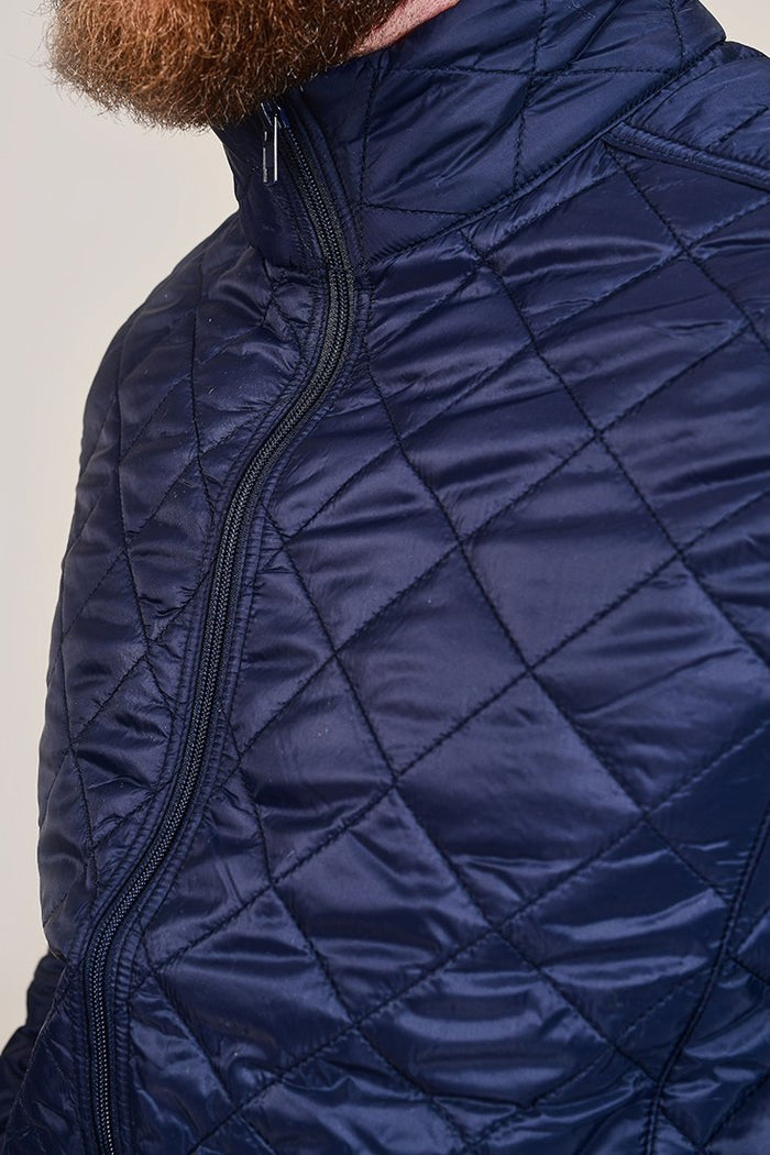Blend Quilted Navy Jacket