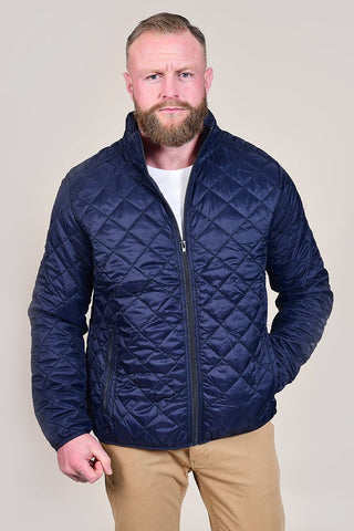 Blend Quilted Navy Jacket S