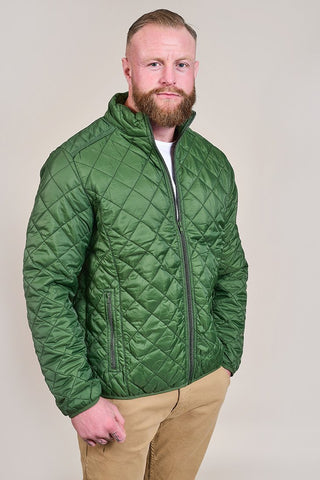 Blend Quilted Olive Jacket S
