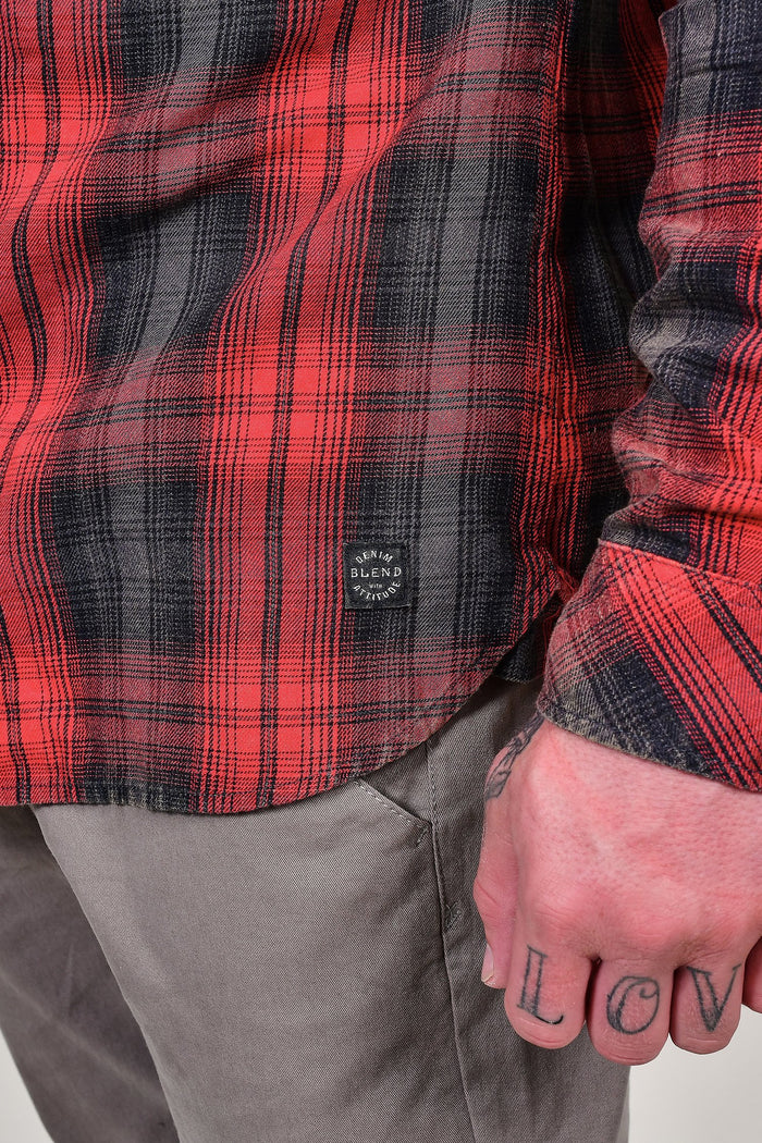 Blend Red Check Shirt