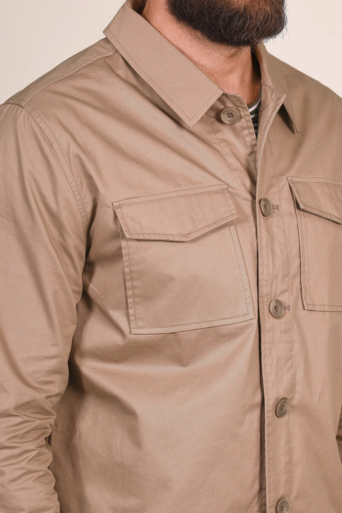 Casual Friday Beige Overshirt