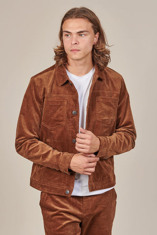 Casual Friday Brown Cord Jacket