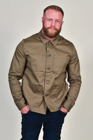Casual Friday Olive Overshirt