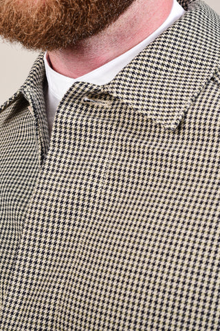 Casual Friday Tan Houndstooth Mac S