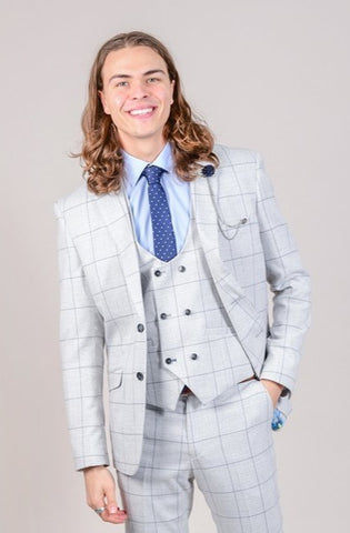 Cavani Radika Light Grey Blazer
