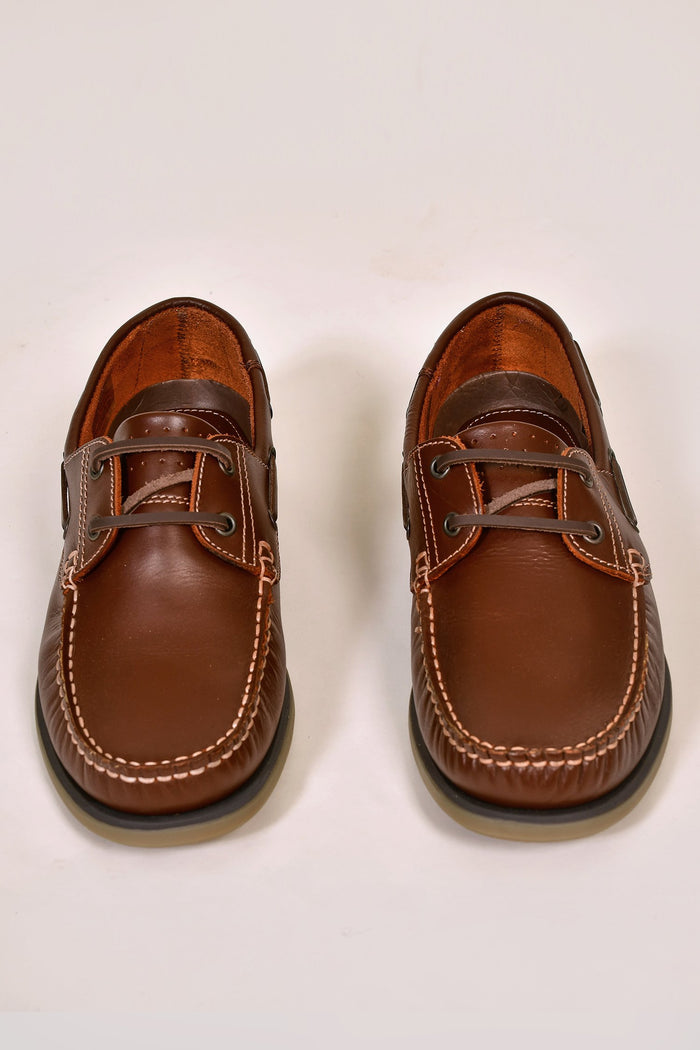 Dek Brown Boat Shoes