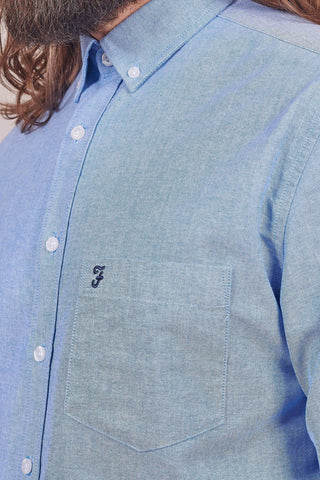 Farah Blue Oxford Shirt