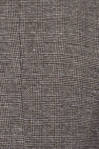 Fratelli Brown Prince Of Wales Check Tweed Style Trousers