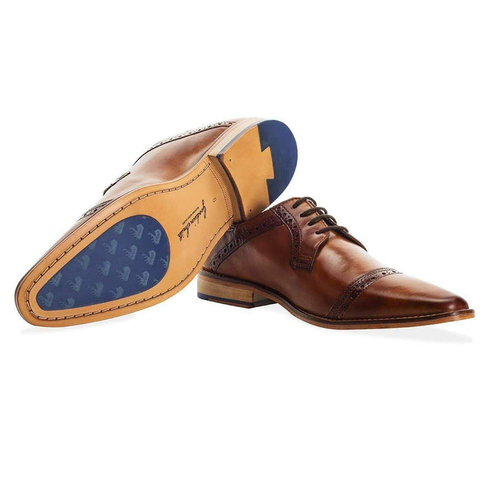Goodwin Smith Langho Derby Shoe - Tan