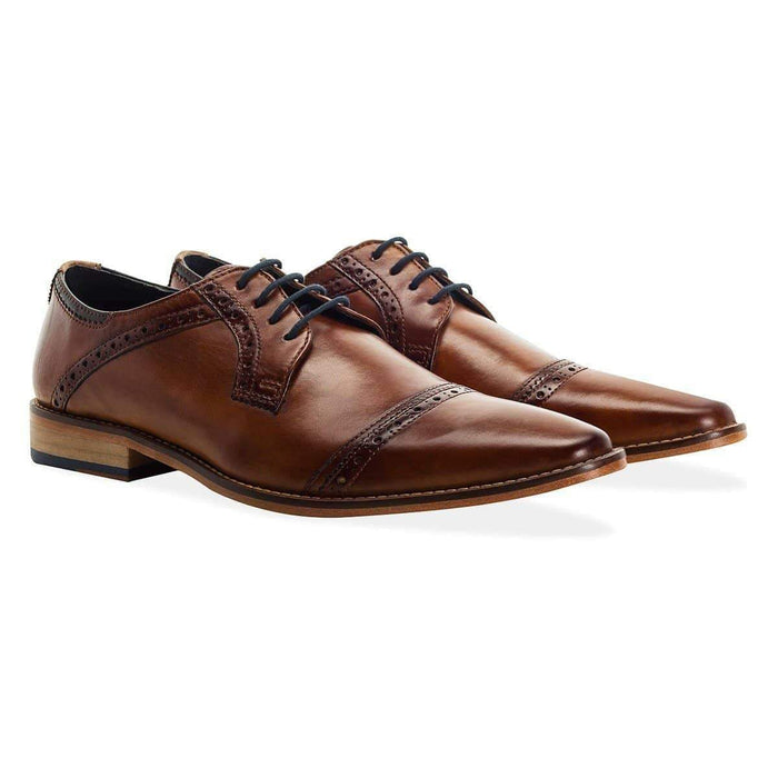 Goodwin Smith Langho Derby Shoe - Tan 7