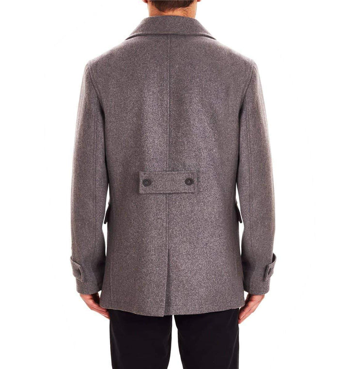 Guide London Peacoat - Light Grey