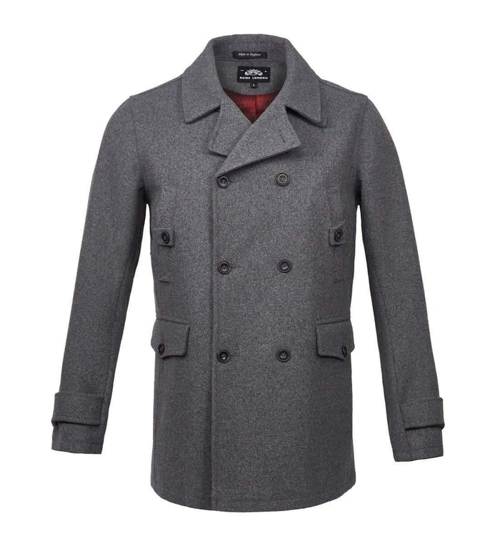 Guide London Peacoat - Light Grey M