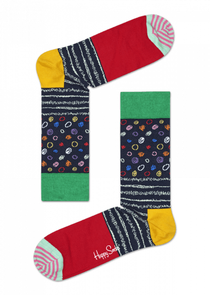 Happy Socks 'My Dad' 3 Pack Gift Box navy, yellow, multi