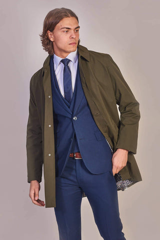 Harry Brown Khaki Mac S (38 chest)