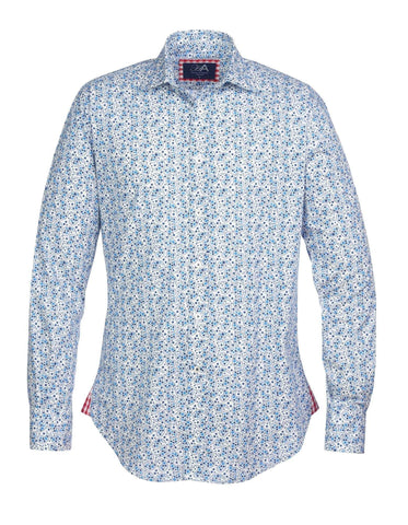 Henry Arlington Bath Hatton Blue Shirt S