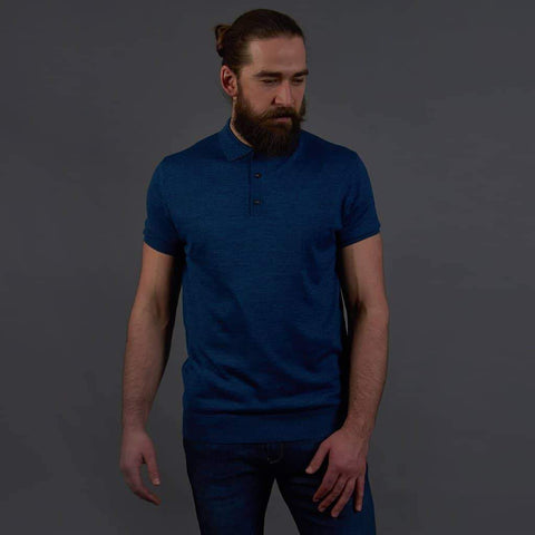 Herbie Frogg Blue Polo Shirt S / Blue