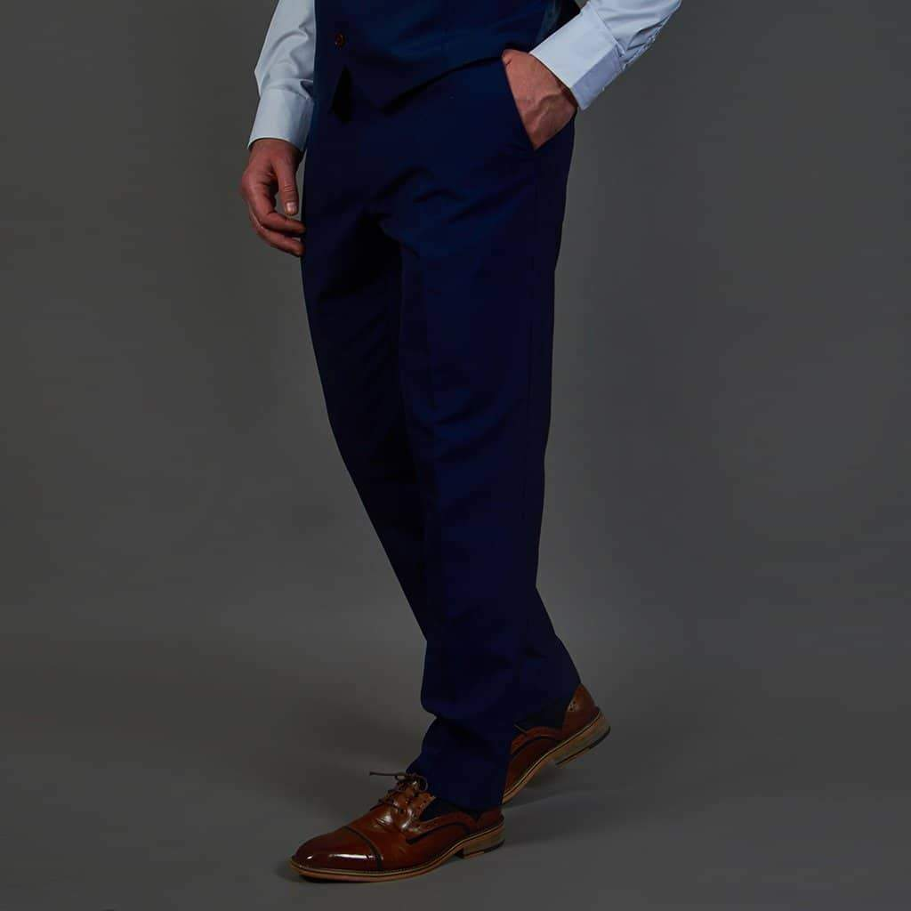 Herbie Frogg French Navy Trouser 30R