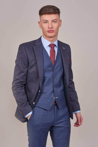 Herbie Frogg Herbie Frogg Navy Cotton Blazer £82.50