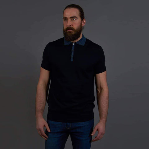 Herbie Frogg Navy Polo Shirt