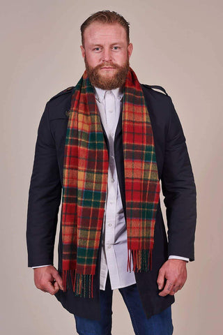 Heritage Traditions Antique Buchanan Check Scarf
