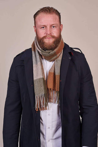 Heritage Traditions Heritage Traditions Woodland Tartan Check Scarf £14.99