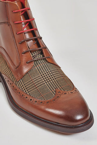 Justin Reece Justin Reece Douglas Boots In Brown £119.99