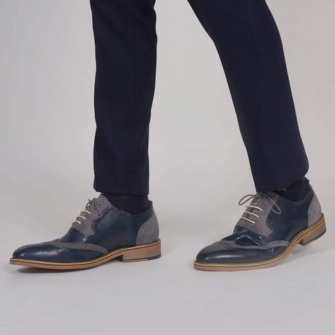 Justin Reece Fabio Navy Oxford 6 / Navy