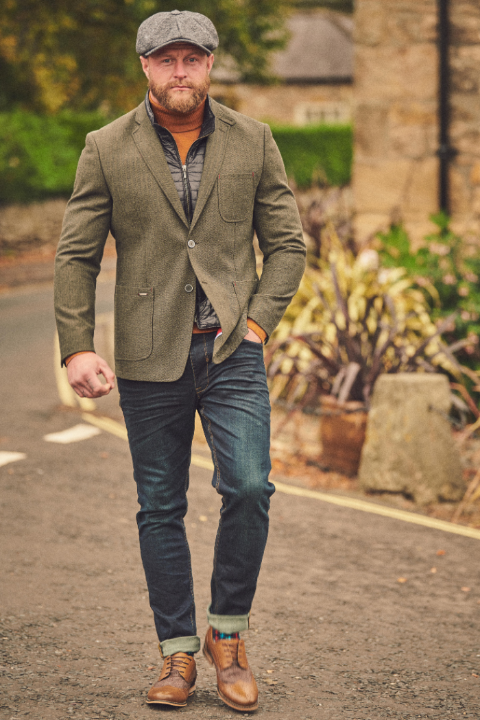 Social Outfit Lavard Blazer with Roll Neck Outfit £329.95