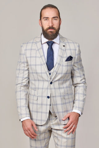 Marc Darcy Buxton Stone Check 2 Piece Suit marc-darcy-buxton-stone-check-blazer / marc-darcy-buxton-stone-check-trousers