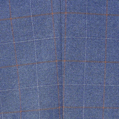 Marc Darcy Marc Darcy Matthew Sky Blue Check Tweed Style Blazer £62.00