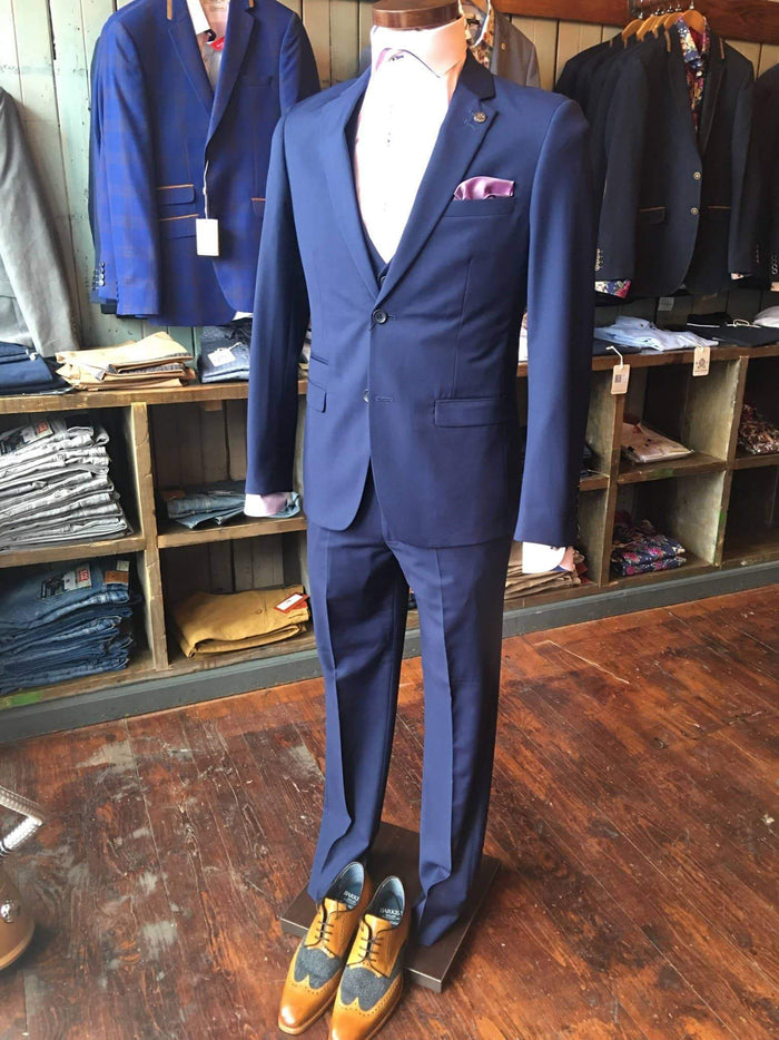 Marc Darcy Royal Blue Suit Jacket